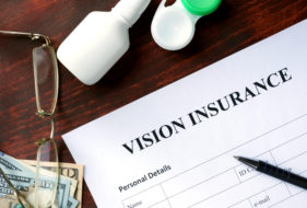 Vision insurance paper work