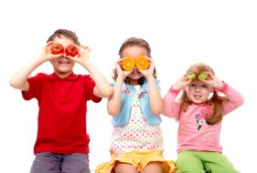 Teaching kids to eat right for your vision